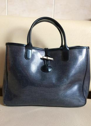 Longchamo roseau bag  стильная сумка