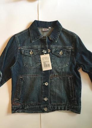 Джинсовая куртка 8 и 10 лет