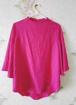 Летняя яркая блузка цвет фуксия # sale # river island