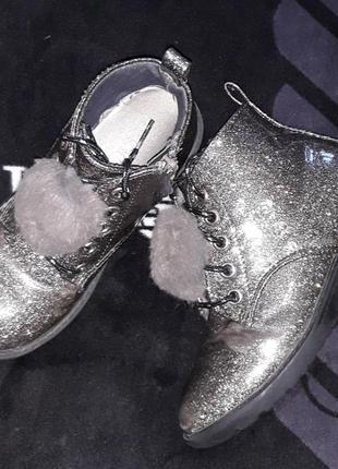 Полусапожки ботинки фирма primark 18,5 см