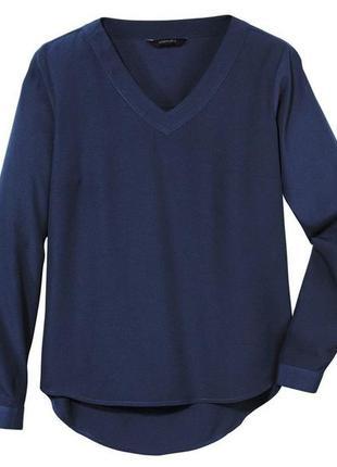 Стильная блуза , рубашка ,esmara германия, длина рукава регулируется , р.40 евро