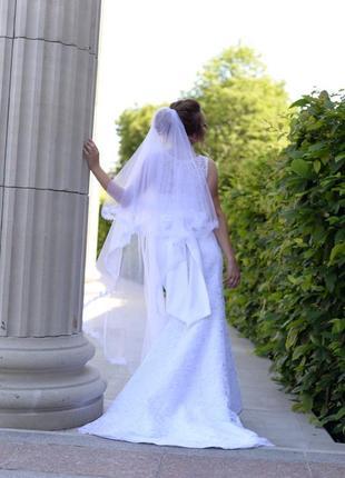 Свадебное белое платье5 фото