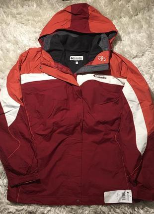 Куртка columbia 3в1, ветровка   кофта р.l