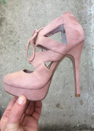 Летние туфли, босоножки new look размер 36 (22,5 см.)