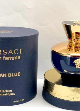 Versace dylan blue pour femme_original eau de parfum 10 мл затест_парфюм.вода