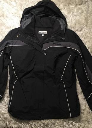 Куртка columbia 3в1, ветровка   кофта р.s, l
