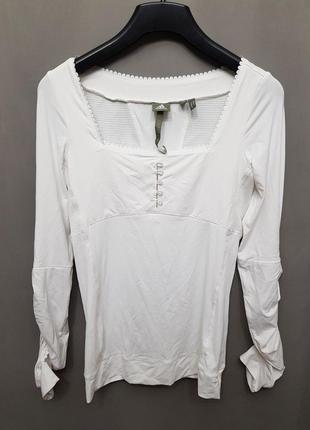 Спортивная кофта блузка adidas stella mccartney