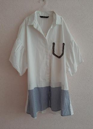 Стильное платье фирмы zara