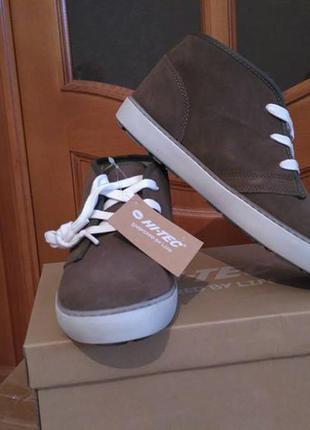 Замшевые ботинки hi-tec