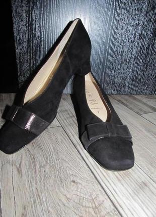 Замшевые туфли hassia® р.7 g - 26см
