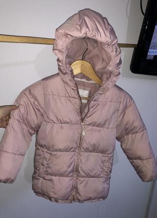 Детская куртка next 4-5 лет