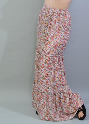 4340\60 длинная летняя юбка f&f m