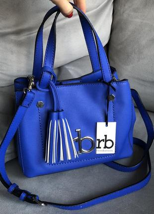 Новая брендовая синяя сумка roccobarocco, michael kors, karl lagerfeld, moschino, guess