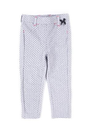 Трикотажные брючки на девочку р.98 см 3 года от бренда coccodrillo с сайта answear
