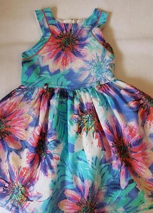 Платьице с пышной юбочкой на 5 лет