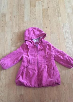 Тоненька курточка-пальто