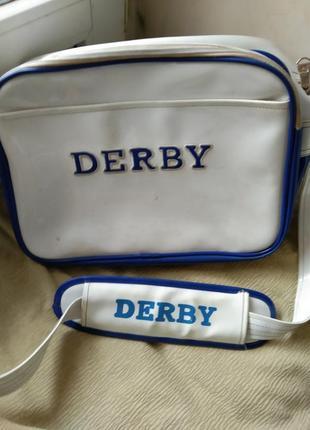 Оригинал сумка-почтальйонка derby