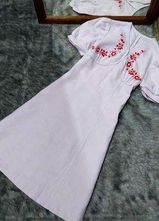 Sale вышиванка платье с вышивкой