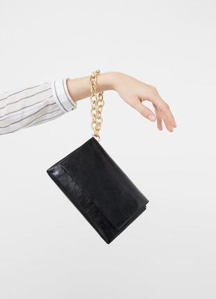 Новый клатч мини сумочка mango, последняя коллекция