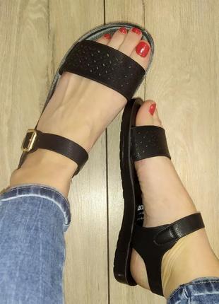 Низкий ход босоножки 🌿 сандали босоніжки классика