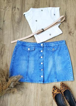 Стильна джинсова спідниця denim co