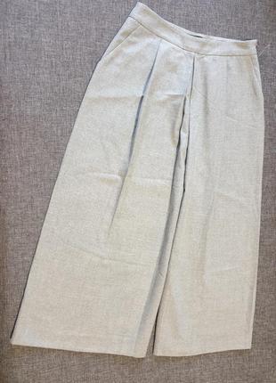 Серые шорты zara collection