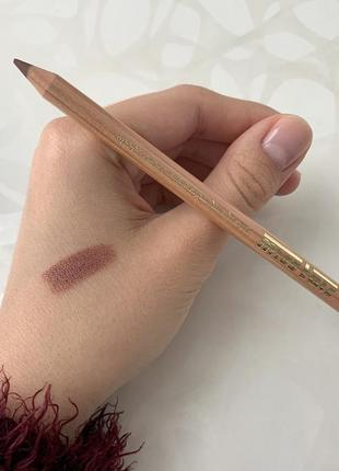 Матовый карандаш miss tais №771 для губ лилово-бежевый мисс таис чехия оригинал