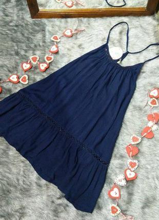 Sale новая! блуза топ туника кофточка с американской проймой из вискозы papaya