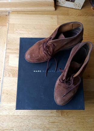 Ботинки кожаные mark jacobs