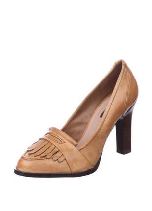 Туфли, лоферы из натуральной кожи