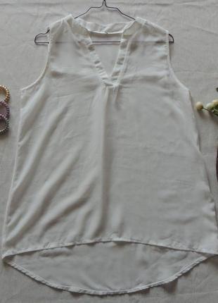 Актуальная шифоновая блуза , р 36-38 евро