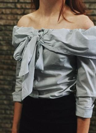 Only блузка в полоску