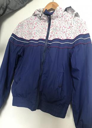 Двухсторонняя курточка ветровка