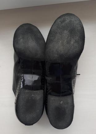 Туфли для бальных танцев dance me стандарт, лак4 фото