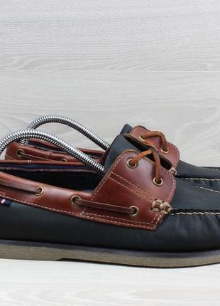 Мужские кожаные мокасины / топ-сайдеры marks & spencer, размер 43