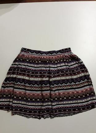 Фирменная легкая юбка