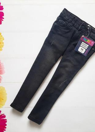 Стильные джинсы скинни lupilu