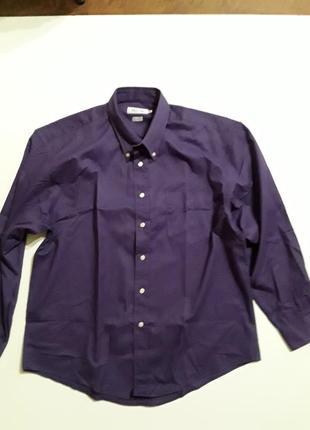 Фирменная теплая рубашка xl