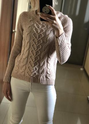 Вязанная кофта, свитер