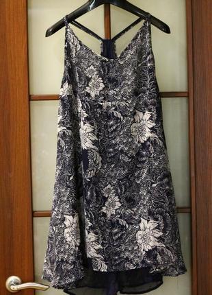 Шифоновый сарафан шифоновое платье