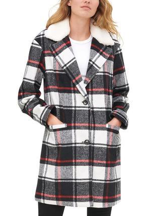 Levi's шерстяное пальто оригинал новая шерстяная парка, куртка s-m новая коллекция