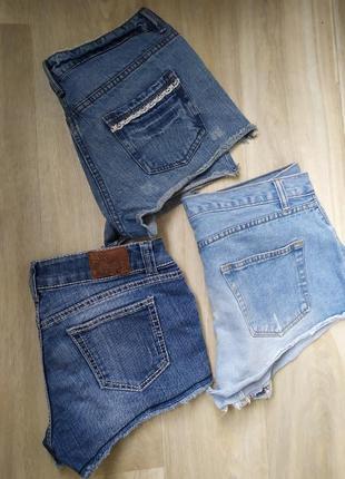 Джинсовые шорты, 10-12, 44 размер, бедра 90-96