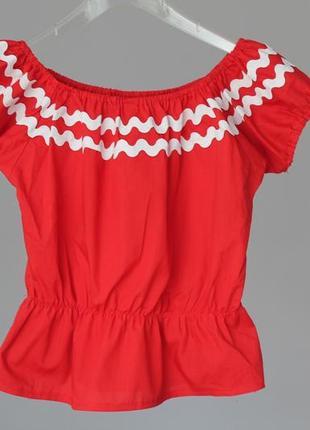 Нарядна блузка під вишиванку