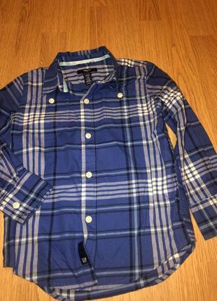 Gap 4-5(110)рубашка