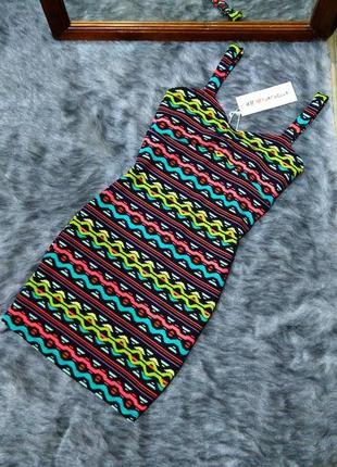 Sale новое! платье на бретелях h&m