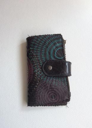 Кожаный кошелёк desigual