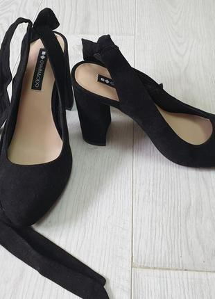 Туфли с открыто пяткой even&odd, размер 37