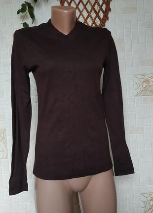 Базовый коричневый джемпер