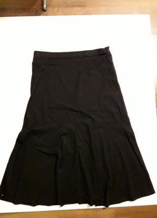 Фирменная легкая юбка хлопок лен