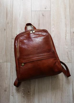 Кожаный рюкзак borse in pelle
